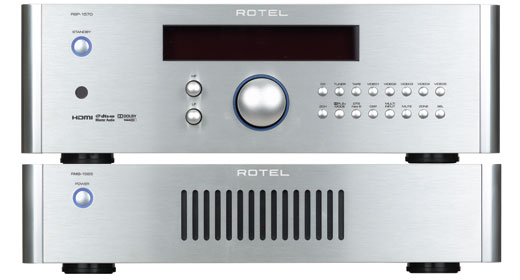 Rotel RMB-1565/RSP-1570 Processor/Power Amp review