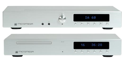 Micromega CD-10 CD Player and IA-60 Integrated Amplifier Review
