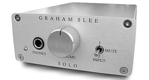 Graham Slee Solo SRGII Headphone Amplifier Review
