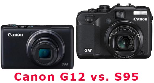 Canon G12 vs. S95 review