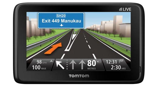 TomTom Go Live 1000 In-Car GPS Review