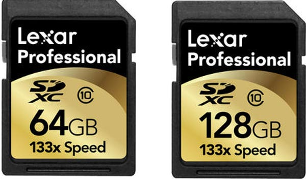 Lexar Releases High-Speed SDXC Cards