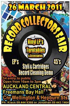 Auckland Record Collectors Fair This Saturday