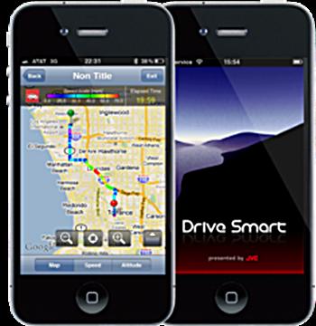 JVC Releases DriveSmart iPhone App