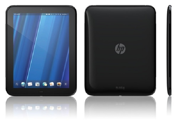 HP TouchPad lands