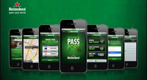 'Your Heineken Passport' App Launched for Rugby World Cup