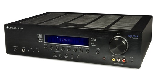Cambridge Audio Releases New Compact 551R Home Theatre Receiver