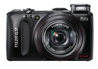 Fujifilm's FinePix F Series on shelves
