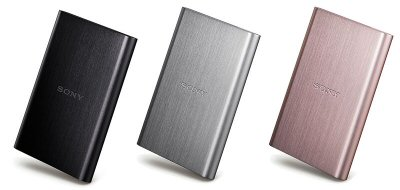 Sony's High-speed External Hard Drives
