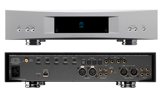 Linn's Akurate DSM Digital Music Player is also a Preamp