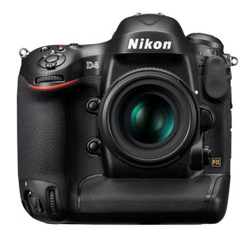 Nikon Announces D4 Professional Camera