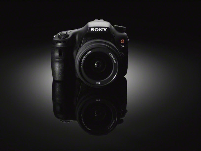 Sony Releases A57 DSLR