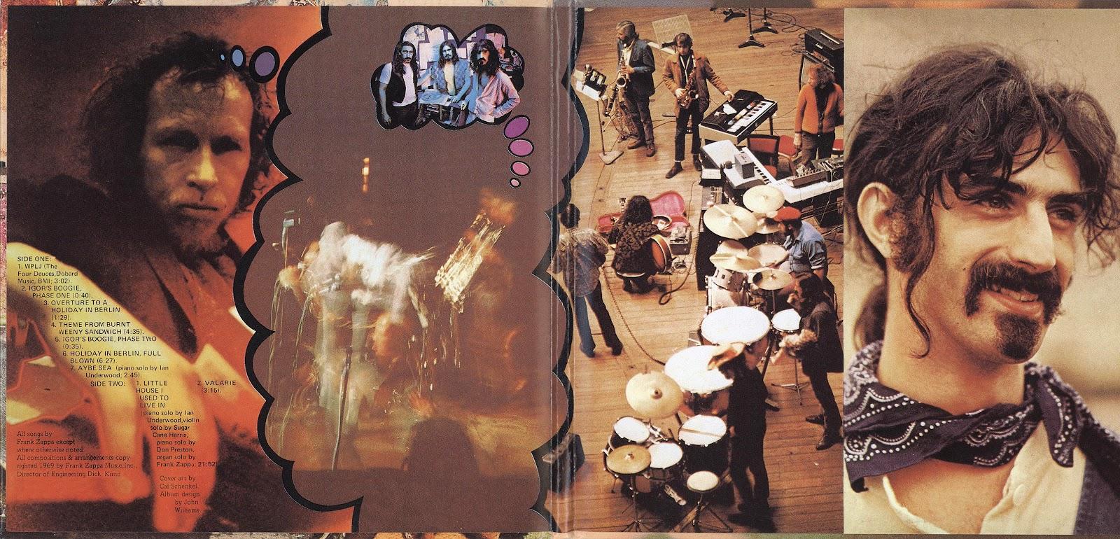 Frank Zappa – Burnt Weeny Sandwich (Zappa Records/Universal) CD REVIEW
