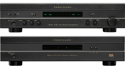 Parasound New Classic Pre and Power Amplifier REVIEW