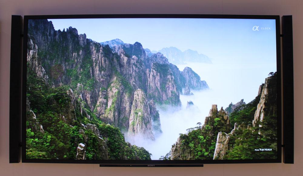 Sony's astonishing 4K panel.