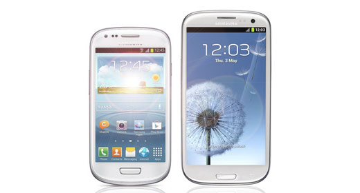 Samsung's Mini-me Galaxy In The Shops