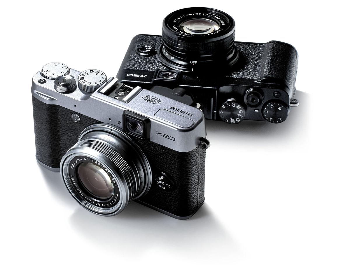 Fujifilm's X20 Snapper Arrives