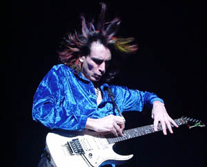 Steve Vai, ASB Theatre, Aotea Centre, Auckland, Saturday July 20 CONCERT REVIEW