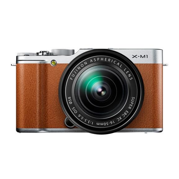 Fujifilm Launches Retro X-M1 Camera