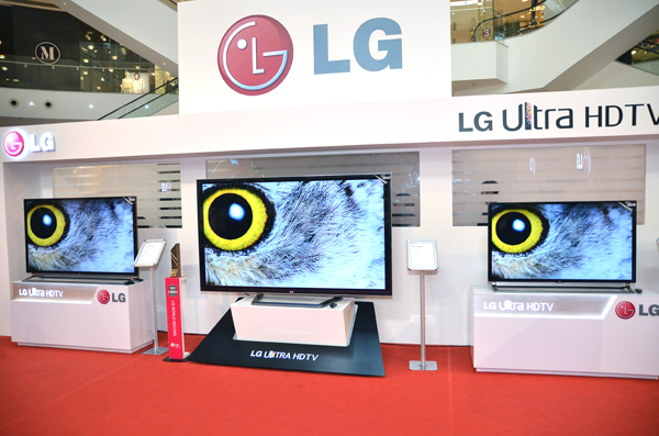 LG Introduces New Set Of Ultra Hi-Def TVs