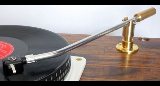 Turned On Audio Distributing Schick Tonearms