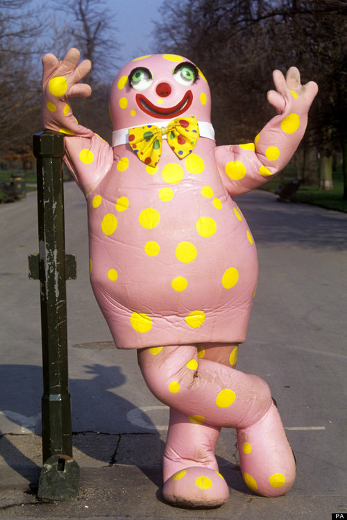 This Week Across Time Mr Blobby Back Into Hell on Days Of The Week Song