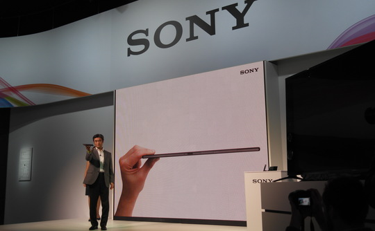 Sony Announces Xperia Z2 Tablet