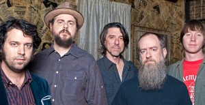 The current lineup of Drive By Truckers.