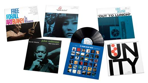 100 Classic Blue Note Jazz Albums Reissued On Vinyl