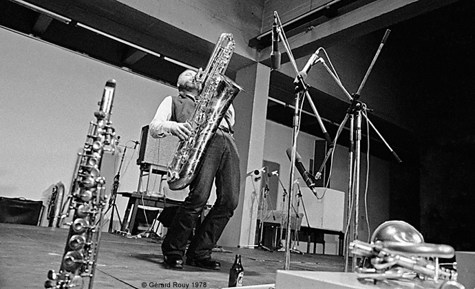 Peter Brotzman, Saxophone Colossus