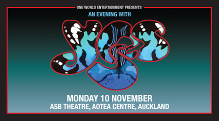 Yes, ASB Theatre, Aotea Centre, Monday 10 November 2014 LIVE REVIEW