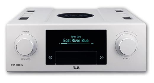 T+A Launches New PDP3000 HV SACD CD DSD PCM Player And Decoder