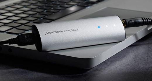 Meridian Launches Explorer 2 USB DAC And Headphone Amp With MQA