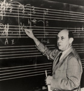 Schoenberg wore good underpants