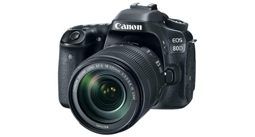Canon Introduces EOS 80D Advanced DSLR