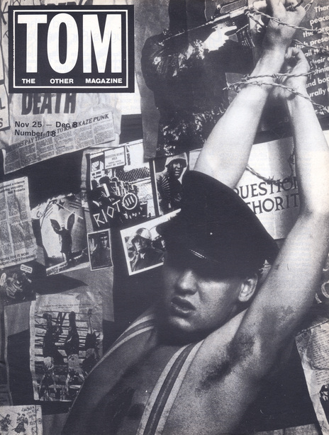 Void pictured on the front cover of TOM magazine.