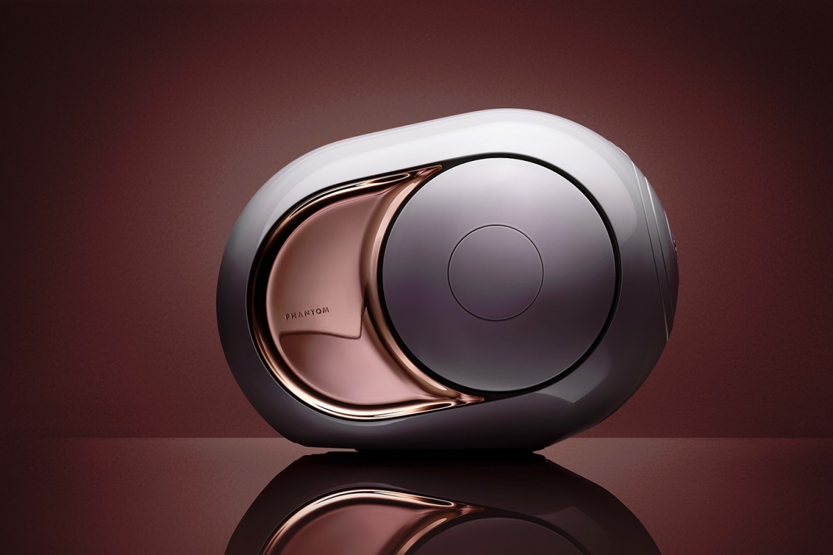 Devialet's Gold Phantom speaker