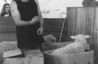 John Clarke as Fred Dagg satirised the old-fashioned NZ farmer