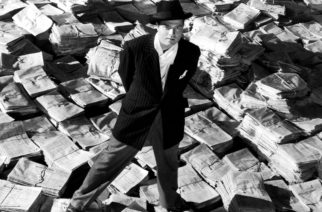 Orsen Welles in Citizen Kane