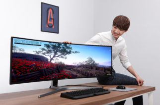 Huge Monitor Set To Put Gaming Freaks In A Trance