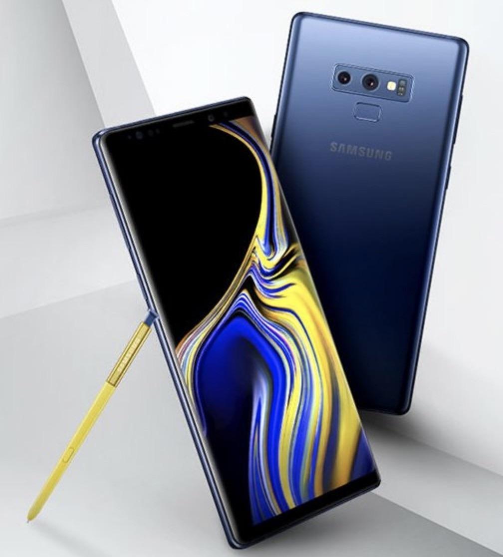 Samsung Note 9 Datenblatt