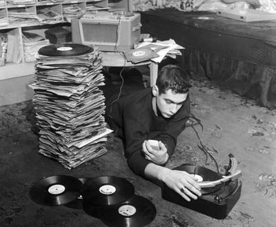 Definitely not the author's record collection