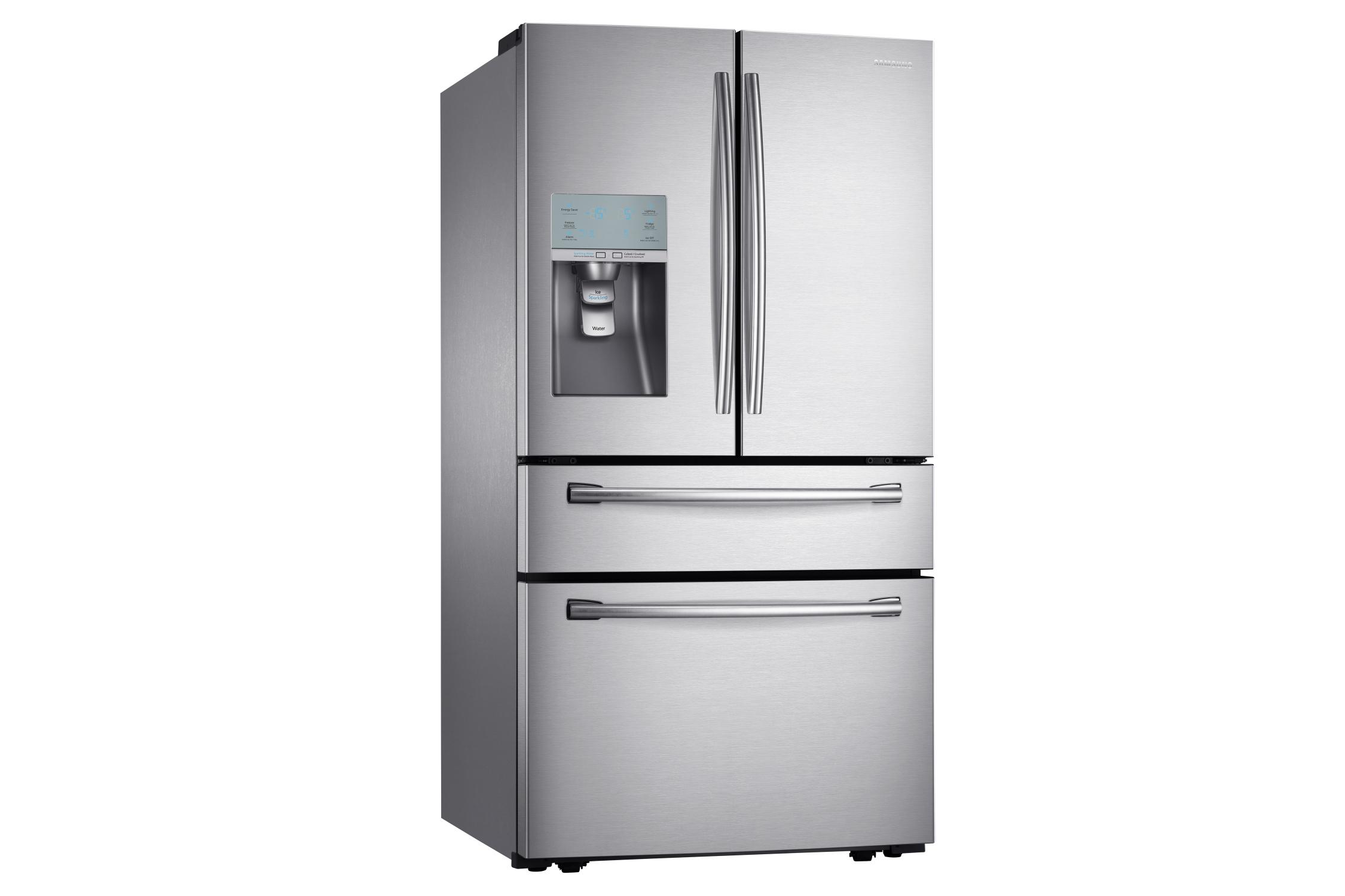 Samsung's soda-dispensing fridge