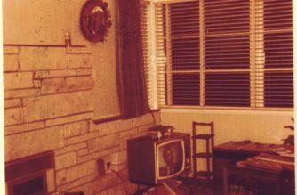 Our suburban Hamilton lounge, early '70s.